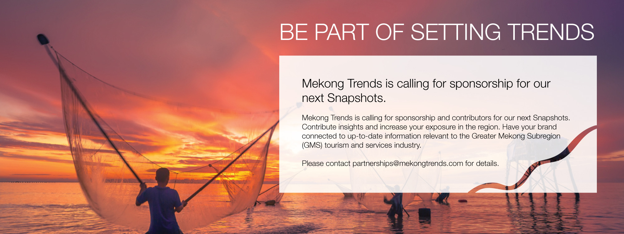 Mekong Trends - Call for Sponsorship